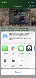 Screenshot Sharing